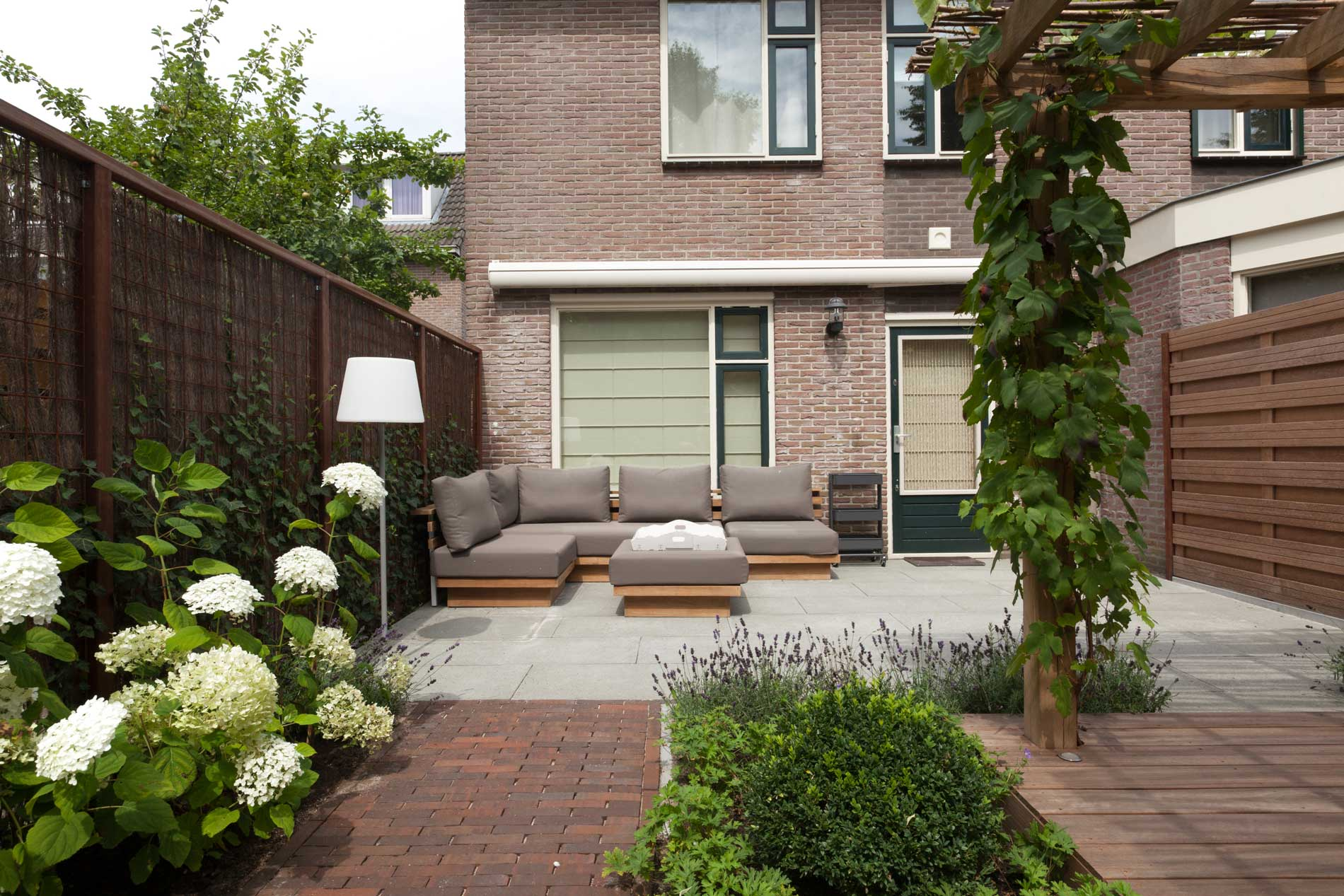 Franse tuin door heart for gardens laten ontwerpen of for Tuin laten ontwerpen