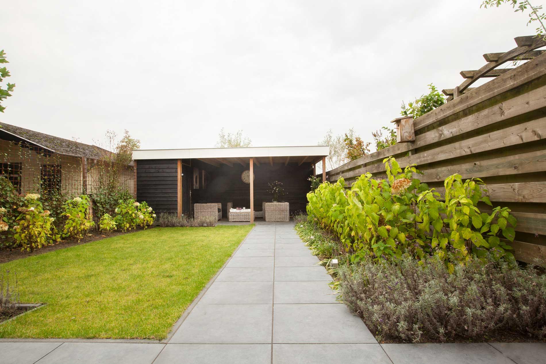 voorbeeld tuinen weinig onderhoud