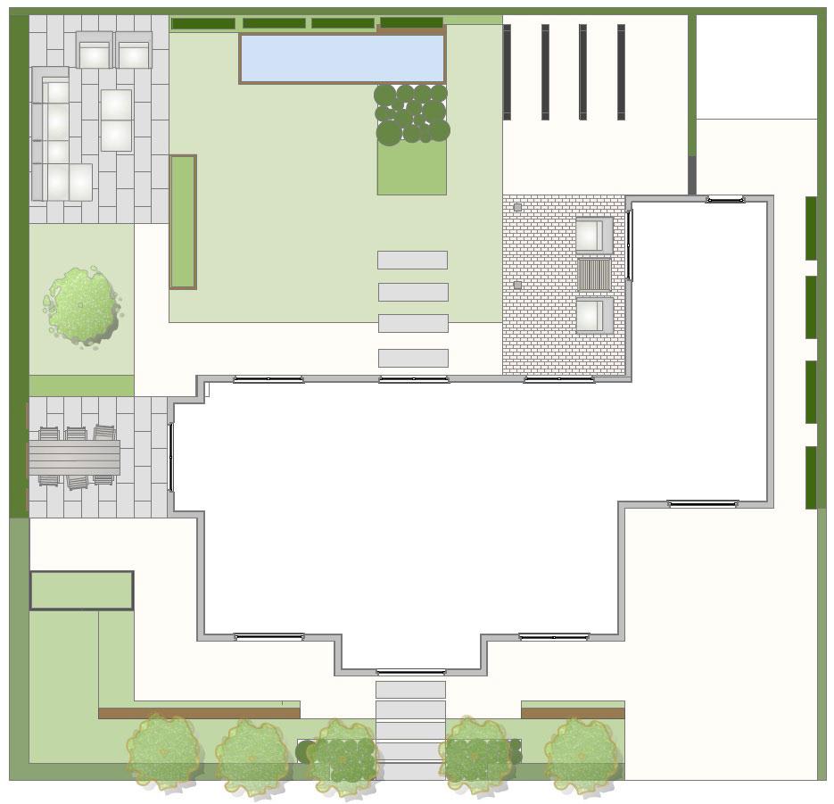 Voorbeeld tuinontwerp botanische tuin utrecht modern for Tuinontwerpen utrecht