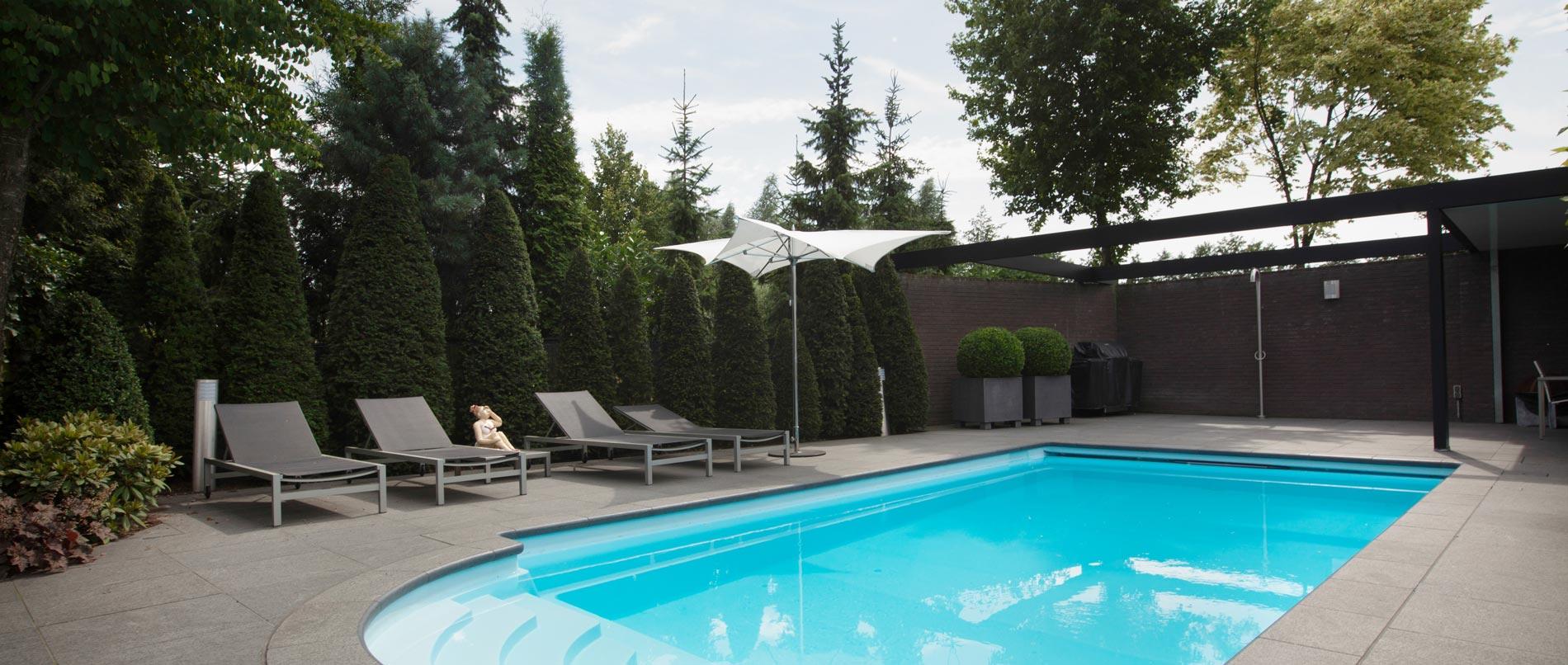 Zwembad tuinen van heart for gardens ontwerp aanleg en projecten - Tuin en zwembad design ...
